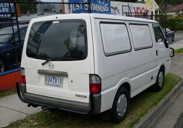 Used Mazda E2000 SWB, Glen Waverley, 2001 Mazda E2000 SWB Van