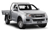D-MAX 4x4 Single Cab Chassis SX