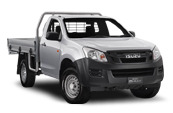 D-MAX 4x4 Single Cab Chassis EX