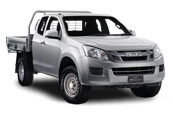 D-MAX 4x4 Space Cab Chassis SX