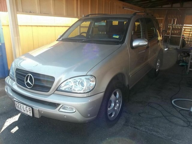Used Mercedes-Benz ML 270 CDI (4x4), North Rockhampton, 2003 Mercedes-Benz ML 270 CDI (4x4) Wagon