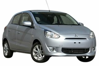 Discounted Demonstrator, Demo, Near New Mitsubishi Mirage LS, Nundah, 2013 Mitsubishi Mirage LS LA MY14 Hatchback