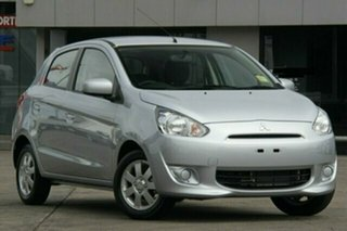 Discounted Demonstrator, Demo, Near New Mitsubishi Mirage Sport, Nundah, 2013 Mitsubishi Mirage Sport LA MY14 Hatchback