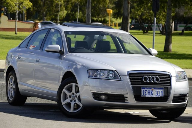 Used Audi A6 Multitronic, Victoria Park, 2008 Audi A6 Multitronic 4F Sedan