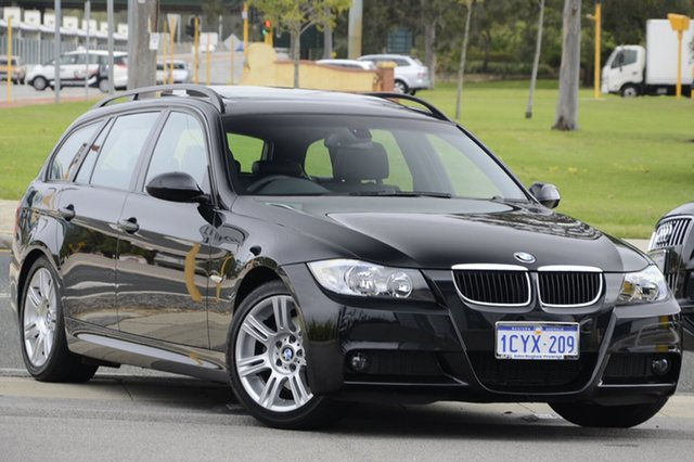 Used BMW 320I Executive Touring Steptronic, Victoria Park, 2008 BMW 320I Executive Touring Steptronic E91 MY08 Wagon