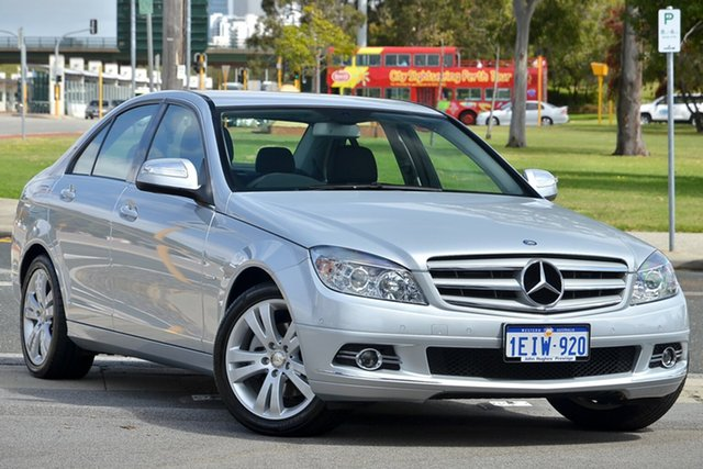 Used Mercedes-Benz C200 Kompressor Avantgarde, Victoria Park, 2008 Mercedes-Benz C200 Kompressor Avantgarde W204 Sedan