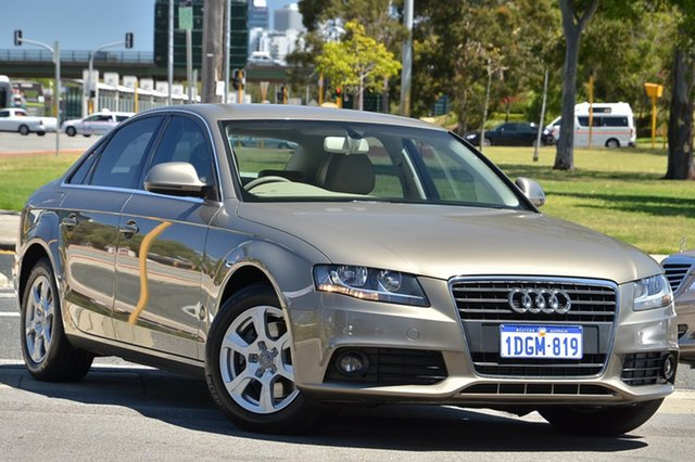 Used Audi A4 Multitronic, Victoria Park, 2008 Audi A4 Multitronic B8 8K Sedan