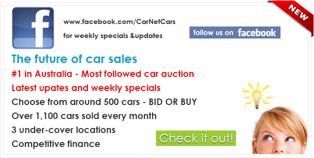 Weekly Specials | CarNet Auctions | Most Followed Car Auction