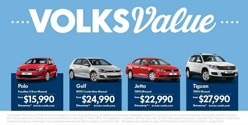 VOLKSVALUE AT KINGHORN VOLKSWAGEN