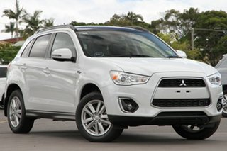 Discounted Demonstrator, Demo, Near New Mitsubishi ASX Aspire 2WD, Nundah, 2013 Mitsubishi ASX Aspire 2WD XB MY14 Wagon