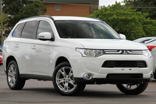 Discounted Demonstrator, Demo, Near New Mitsubishi Outlander LS 2WD, Nundah, 2013 Mitsubishi Outlander LS 2WD ZJ MY14 Wagon