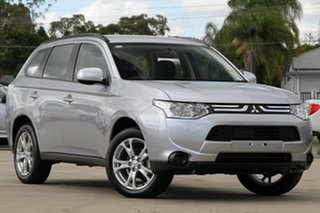 Discounted Demonstrator, Demo, Near New Mitsubishi Outlander ES 2WD, Nundah, 2013 Mitsubishi Outlander ES 2WD ZJ MY14 Wagon
