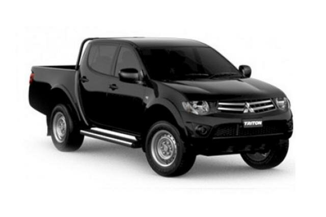 Discounted New 2014 Mitsubishi Triton MN MY15 GLX DOUBLE CAB 4 Speed Automatic Dual Cab Utility - John Hughes New Cars, Victoria Park.