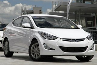 Discounted Demonstrator, Demo, Near New Hyundai Elantra Trophy, Kedron, 2014 Hyundai Elantra Trophy MD3 Sedan