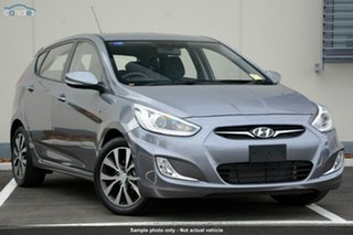 Demonstrator, Demo, Near New Hyundai Accent SR, Townsville, 2014 Hyundai Accent SR RB3 Hatchback