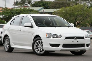 Discounted Demonstrator, Demo, Near New Mitsubishi Lancer LX Sportback, Nundah, 2013 Mitsubishi Lancer LX Sportback CJ MY14 Hatchback