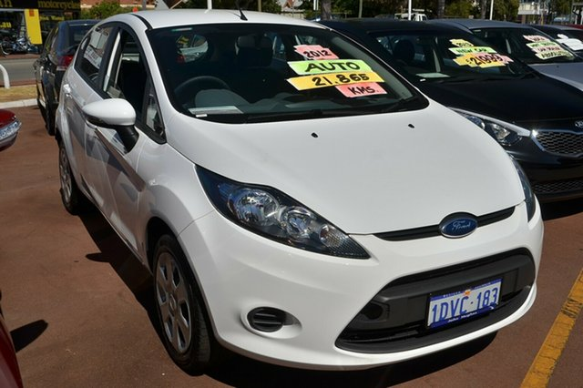 Used Ford Fiesta CL PwrShift, Victoria Park, 2012 Ford Fiesta CL PwrShift WT Hatchback