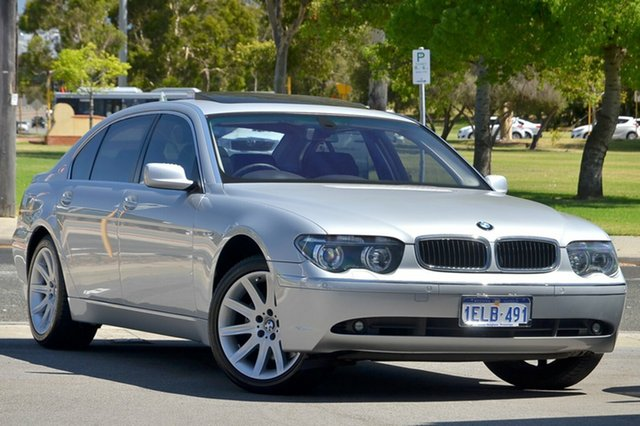 Used BMW 745Li Steptronic, Victoria Park, 2003 BMW 745Li Steptronic E66 Sedan