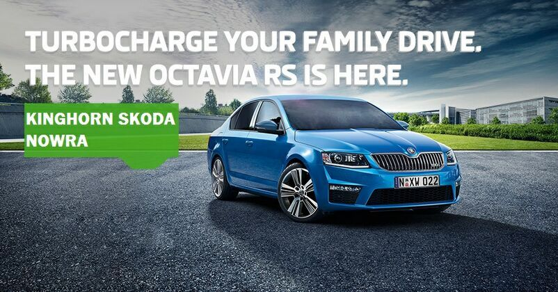 NEW OCTAVIA RS AT KINGHORN SKODA
