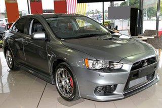 Discounted Demonstrator, Demo, Near New Mitsubishi Lancer Evolution TC-SST MR, Nundah, 2013 Mitsubishi Lancer Evolution TC-SST MR CJ MY14 Sedan