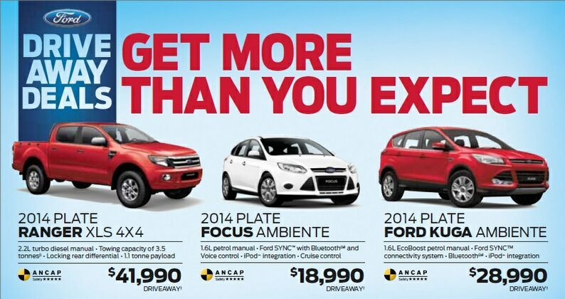 GET MORE THAN YOU EXPECT AT KINGHORN FORD!