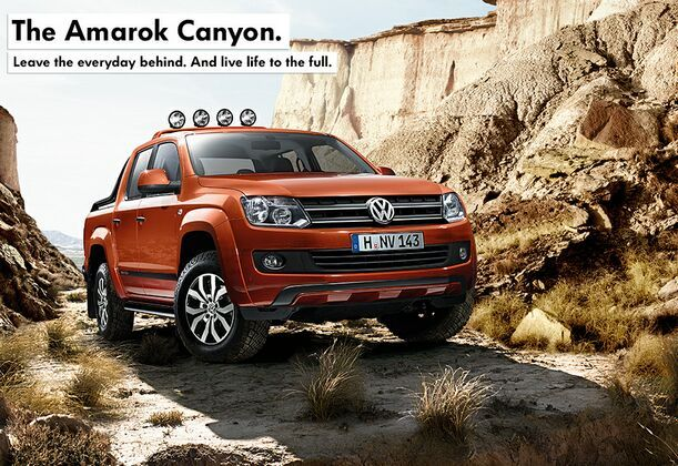 AMAROK CANYON IN STOCK AT KINGHORN VOLKSWAGEN