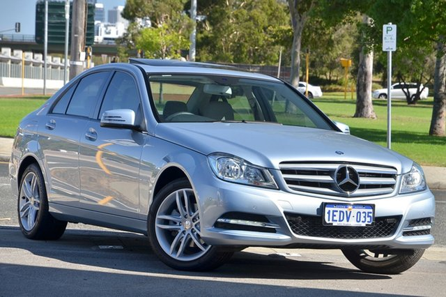 Used Mercedes-Benz C200 CDI BlueEFFICIENCY 7G-TRONIC +, Victoria Park, 2012 Mercedes-Benz C200 CDI BlueEFFICIENCY 7G-TRONIC + W204 MY12 Sedan