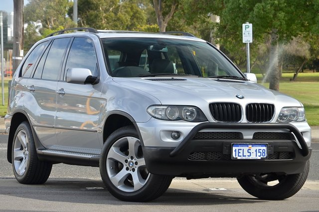 Used BMW X5 Steptronic, Victoria Park, 2005 BMW X5 Steptronic E53 MY05 Wagon