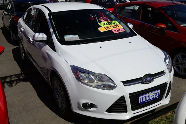 Used Ford Focus Trend PwrShift, Victoria Park, 2012 Ford Focus Trend PwrShift Sedan