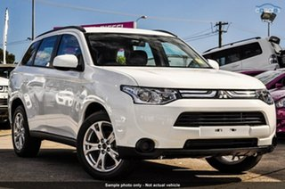 Discounted Demonstrator, Demo, Near New Mitsubishi Outlander ES 4WD, Nundah, 2013 Mitsubishi Outlander ES 4WD ZJ MY14 Wagon