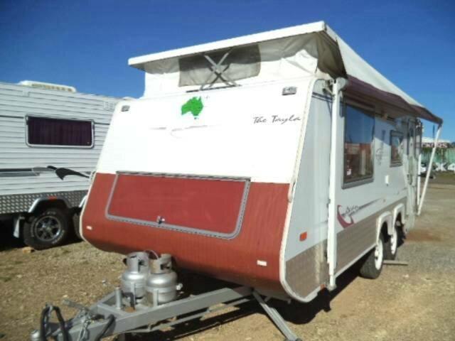 Used AVAN THE TAYLA CARAVAN, Gympie, AVAN THE TAYLA CARAVAN POPTOP 18` Caravan