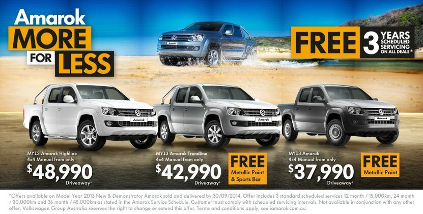 Great commercial deals at Kinghorn Volkswagen