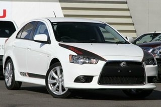 Discounted Demonstrator, Demo, Near New Mitsubishi Lancer GSR Sportback, Nundah, 2014 Mitsubishi Lancer GSR Sportback CJ MY14.5 Hatchback