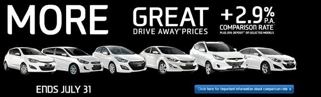 Hyundai 2.99% Finance Offer