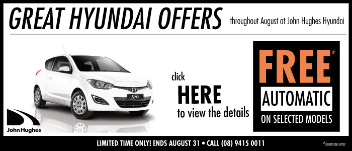Free Automatic on Selected Models Hyundai Search Page