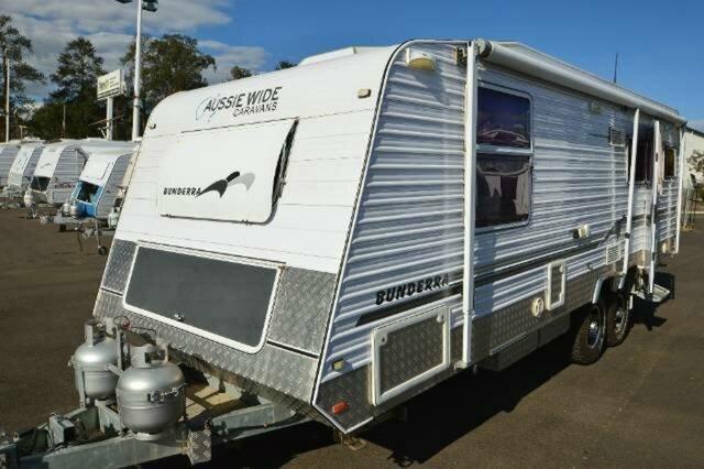 Used AUSSIE WIDE BUNDERRA CARAVAN, Gympie, AUSSIE WIDE BUNDERRA CARAVAN 26` OFFROAD Caravan