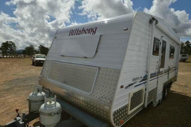 Used BILLABONG CARAVANS GROVE 176 CARAVAN, Gympie, BILLABONG CARAVANS GROVE 176 CARAVAN 17`6 Caravan