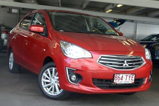 Discounted Demonstrator, Demo, Near New Mitsubishi Mirage LS, Nundah, 2014 Mitsubishi Mirage LS LA MY15 Sedan