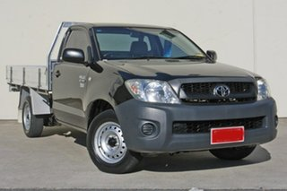 Used Toyota Hilux Workmate, 2009 Toyota Hilux Workmate TGN16R MY09 Cab Chassis