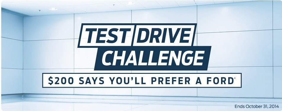 Take the Test Drive Challenge