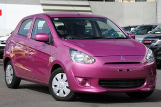 Discounted Used Mitsubishi Mirage ES, Nundah, 2013 Mitsubishi Mirage ES LA MY14 Hatchback