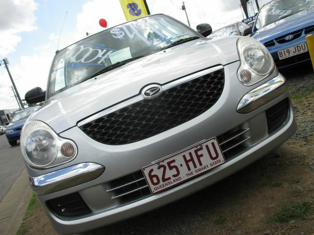 Used Daihatsu Sirion, Moorooka, 2004 Daihatsu Sirion M100RS Hatchback