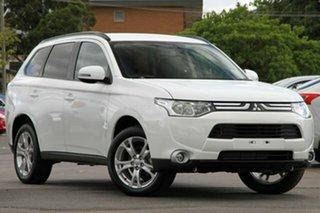 Discounted Demonstrator, Demo, Near New Mitsubishi Outlander LS 2WD, Nundah, 2013 Mitsubishi Outlander LS 2WD ZJ MY14 Wagon