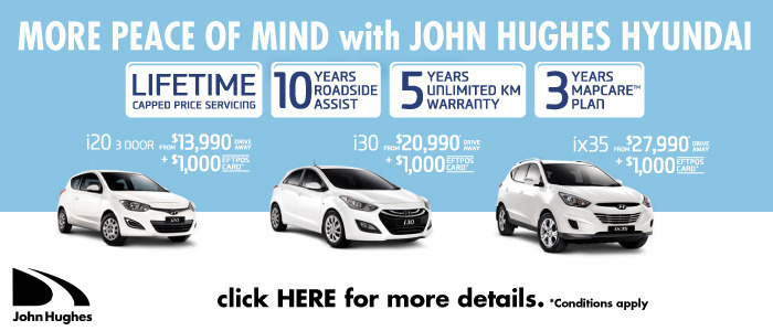 Great Hyundai Deals During October at John Hughes Hyundai
