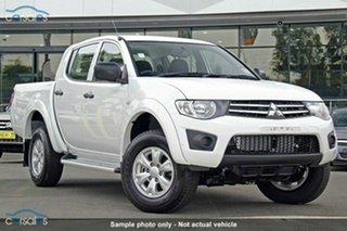 Discounted Demonstrator, Demo, Near New Mitsubishi Triton GLX Double Cab, Nundah, 2014 Mitsubishi Triton GLX Double Cab MN MY15 Dual Cab Utility