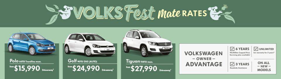Mate rates at Kinghorn Volkswagen