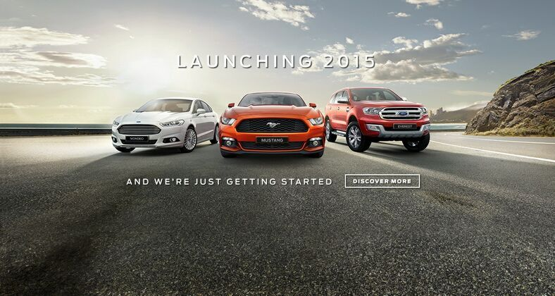 coming in 2015 to Kinghorn Ford