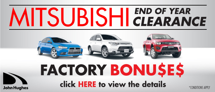 Mitsubishi End of Year Clearance