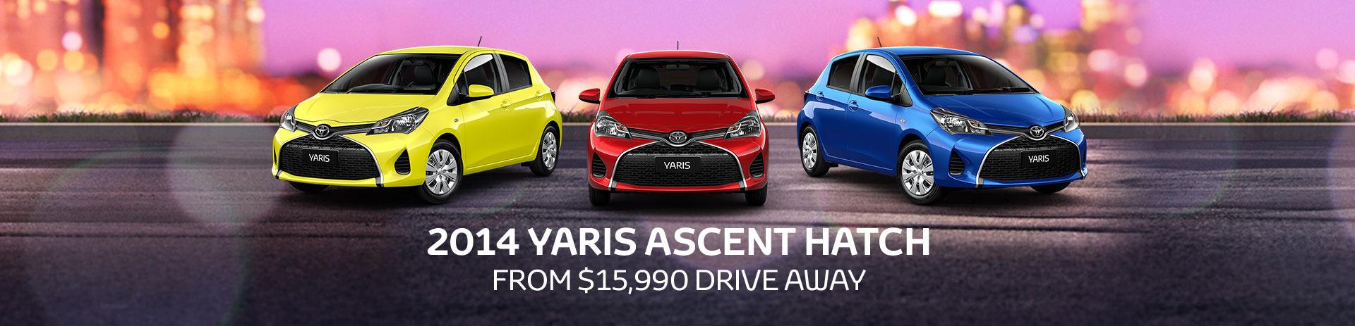 Toyota Yaris Offer
