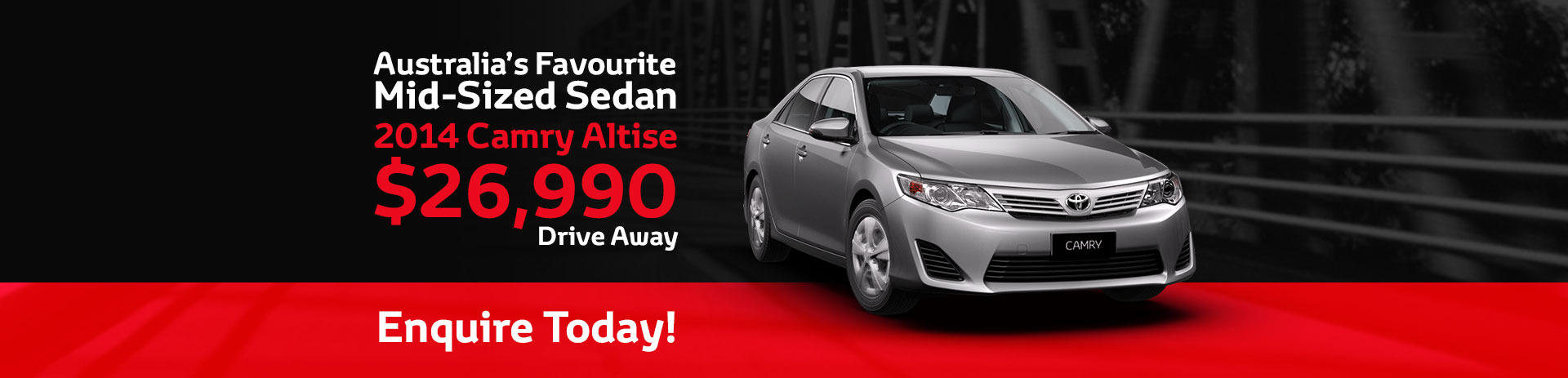 Toyota Camry Altise Special